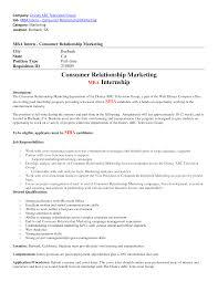 cover letter marketing internship resume samples marketing