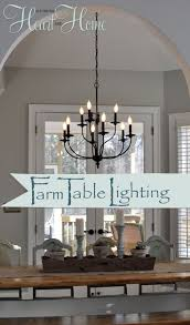 homely ideas farmhouse dining room lighting all dining room