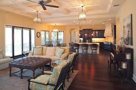 open concept floor plan bayshore estates custom home