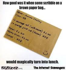 Meme Bag - remember the brown paper bag meme pmslweb