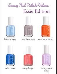 essie nail polish chart pesquisa google nail art pinterest