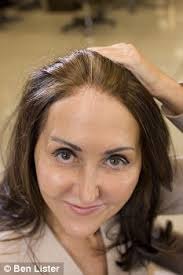 high lighted hair with gray roots liz jones my 25 year battle with grey hair daily mail online