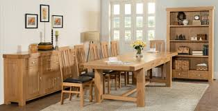Furniture Durable Solid Wood Dining Room Set For Best Kitchen Three Good Reasons To Choose Oak Furniture To Beautify Your House