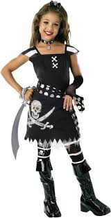 Halloween Costumes Party Boys Girls Scar Pirate Costume Party Halloween