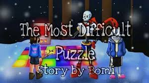 difficult puzzle multi collab undertale amino