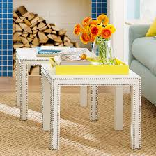 Inexpensive Side Tables Modern Furniture Cheap Living Room Decorating Updates 2013 Ideas