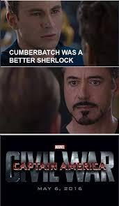 Iron Man Meme - captain america civil war