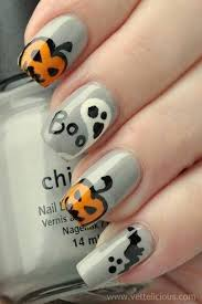 halloween nail art designs easy trend manicure ideas 2017 in