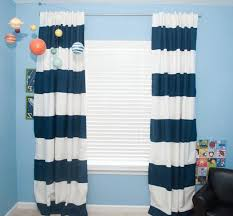 White And Blue Striped Curtains Blue And White Striped Curtains Furniture Ideas Deltaangelgroup