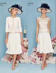 lace chiffon short a line mother of the bride dresses suits with
