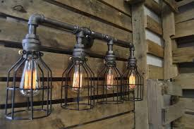 industrial bathroom vanity lighting industrial bathroom vanity lighting style fabrizio design