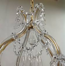 Maria Theresa 6 Light Crystal Chandelier Maria Theresa 4 Light Chandelier Petite From Tolw On Ruby Lane