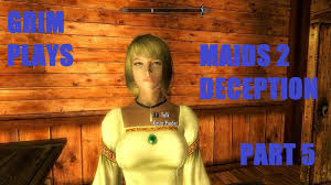 skyrim mods maids 2 deception 5 clean my house youtube