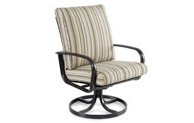 outdoor swivel dining chairs winston savoy cushion aluminum high
