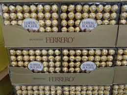 ferrero rocher hazelnut chocolates