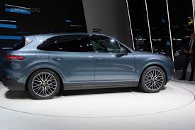 porsche suv white 2017 2017 frankfurt auto show the all new porsche cayenne