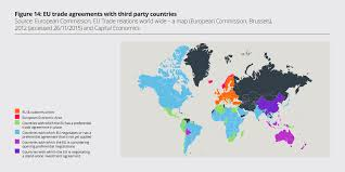 Map Of The European Union by Post Brexit Britain Could Have A Free Trade Agreement With China