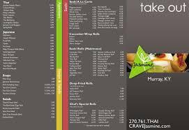 jasmine thai cuisine u0026 sushi bar by helen rogers at coroflot com