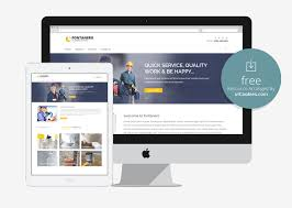 10 free html5 bootstrap construction company website templates 2016