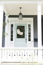 Front Door Colors For White House Front Door Benjamin Moore Catalina Blue In High Gloss Paint