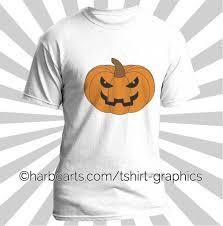pumpkin face t shirt design