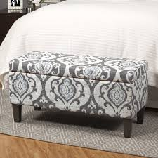 Storage Ottoman Upholstered Inspiring Upholstered Storage Ottoman With One Allium Way Lenore