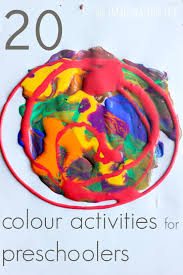 20 colour activities for preschoolers the imagination tree