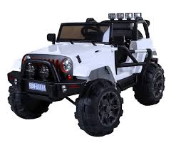 jeep wrangler truck jeep wrangler style ride on truck with 2 4g remote control u2013 car