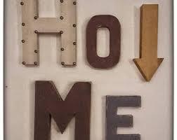Decorative Letters For Walls Letter Decor Etsy