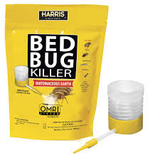 Killing Bed Bugs In Clothes Harris 32 Oz Diatomaceous Earth Bed Bug Killer Hde 32 The Home
