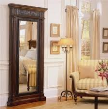free standing jewellery armoire uk jewelry armoire large foter
