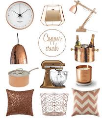 go for the gold and silver amazing copper home decor home design