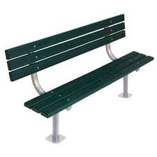 Commercial Outdoor Bench Park Benches Park Furnishings The Home Depot