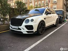 bentley mansory prices bentley mansory bentayga 3 december 2016 autogespot
