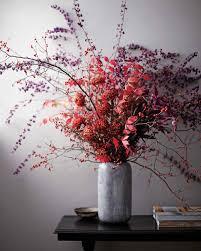 halloween floral decorations fall flower arrangements martha stewart