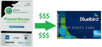 www my vanilla debit card how to use vanilla reload cards to load your bluebird card