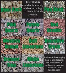 landscape types of landscaping rock with gravel decorative