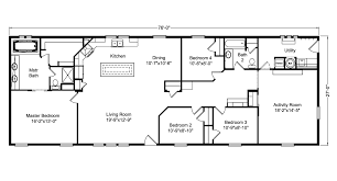 the casa grande ad28764a manufactured home floor plan or modular