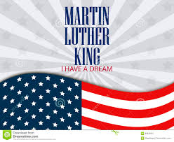 American Flag In Text Martin Luther King Day I Have A Dream The Text With The American