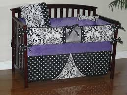 Damask Crib Bedding Sets Purple Damask Crib Bedding Bedding Designs