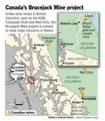 Petersburg Alaska Map by Canadian Mine Wins Approval Without Raising Fears In Alaska