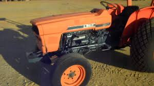 kubota l345 utilty tractor youtube