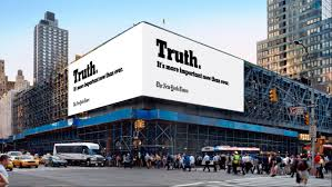 truth is hard u0027 says new york times u0027 first ever oscars ad
