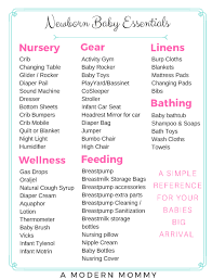 baby registy complete list of newborn essentials for your baby registry a