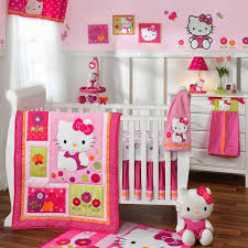 living room beautiful design of hello kitty theme red and pink