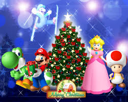 super mario merry christmas 2011 by legend tony980 on deviantart