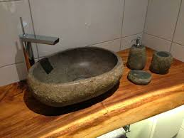 Stone Bathroom Designs Rock Sinks Bathroom Crafts Home