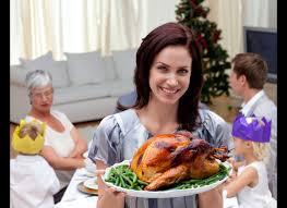 Family At Thanksgiving Dinner Christmas Dinner For Less Morrisons Supermarket Feeds Family Of