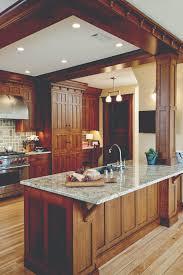 craftsman kitchen cabinet door styles craftsman kitchen house journal magazine