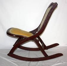 Nursing Rocking Chairs Antique Armless Rocking Chair Design Home U0026 Interior Design
